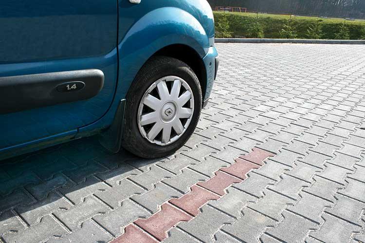 Тротуарна плитка фалка 6см
